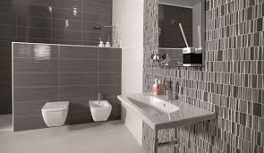 give a sophisticated look with grey bathroom tiles
