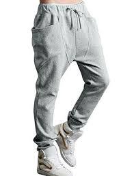 Allegra K Clothing Size Chart Allegra K Men Double Big Pocket Elastic Waist Casual Pants Light Grey W28 30