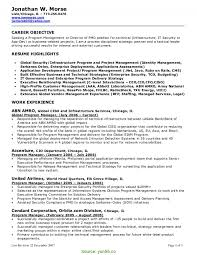 Top Manager Resume Title Examples Management Resumes Objectives