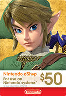 Nintendo eShop Gift Cards - Official Site - Buy Codes Online