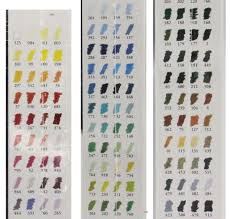Unison Pastel Color Chart Sennelier Extra Soft Pastel 120 Colours Paris Collection Set