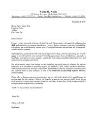 top cover letter systems administrator cover letter example cover letter