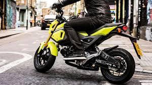 Overview Msx125 2016 125cc Range Motorcycles Honda
