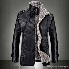 mens fur lined leather jackets best leather jacket foreign
