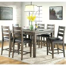 dining set counter height table sets 7 piece rustic solid wood dining set weekends only dining set