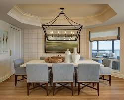 linear chandelier dining room linear chandelier dining room