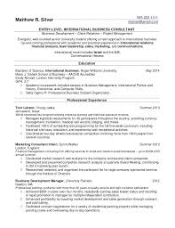 Resume Examples For High School Students With No Experience Best Of Classy Resume Sample High School Graduate No Experience Philippines