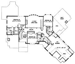 european style house plan 4 beds 4 5 baths 4376 sq ft plan 54 House Plans Cost Build Calculator floor plan upper floor plan Average Cost for House Plans