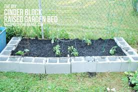 Small Picture the DIY CINDER BLOCK RAISED GARDEN BED Hey Wanderer