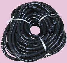 spiral wire wrap 8mm 42 6ft 13m spiral cable wire wrap tube computer manage cord black