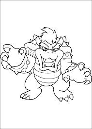Disegno Del Mostro Di Super Mario Da Colorare
