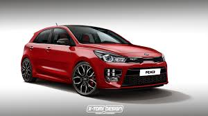 2018 kia rio hatchback. plain hatchback 2018 kia rio gt hot hatch could happen hereu0027s the rendering inside kia rio hatchback k