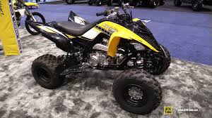 yamaha atv. 2016 yamaha raptor 700r 60th anniversary sport atv walkaround debut at 2015 aimexpo orlando - youtube atv