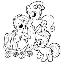 Idea My Little Pony Color Pages Or Little Pony Coloring Page My