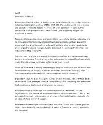 Sample Resume Of It Professional Operations Manager Sample Resume