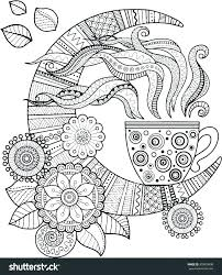 goodnight moon coloring pages drawn night picture 1 colouring