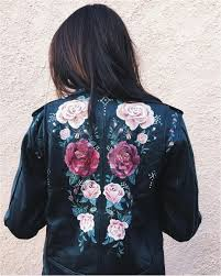 diy paint leather jacket 9 painted leather jackets that are wearable works of art