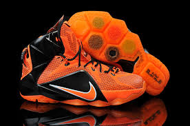 lebron james shoes 12. lebron james 12 nike light green black orange basketball shoes .