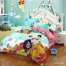 100cotton cat print kids bedding set king queen twin size with quilt duvet covers urban outers