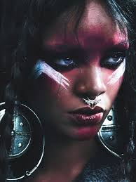 bad gal rihanna the world s wildest style icon rihanna tribal makeup