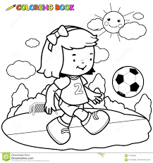 Small Picture Soccer Player Coloring Pages Coloring Coloring Pages