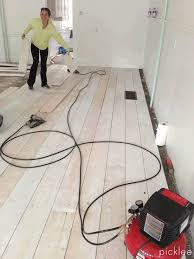 Make Your Own Wood Floors With Plywood! Diy ...