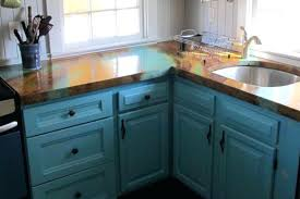 diy concrete countertops marbled cottage kitchen diy concrete countertops overlay