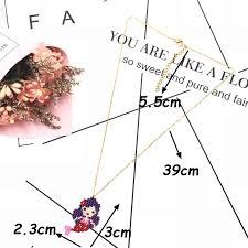 <b>FAIRYWOO New</b> Fashion Sweet Mermaid Necklace Tail Beautiful ...