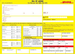 Blank Bill Of Lading Best Form Bol Pdf Free Narrafy Design