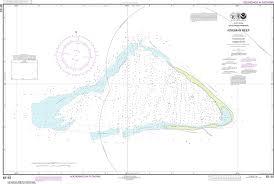 Noaa Nautical Chart 83153 United States Possesion Kingman Reef