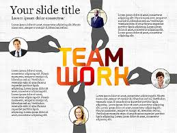 Teamwork Presentations Teamwork Presentation Template For Powerpoint Presentations