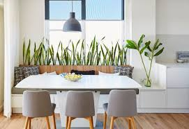 Image Plant Pots Contemporary Dining Room By Marlowe Hues Colour Design Houzz Builtin Indoor Planter Boxes And Their Perfect Perennial Pairs