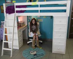 beautiful loft bed with desk and couch pictures liltigertoo com