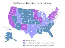 one year after us v windsor the marriageequality map  ms