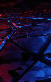 Blue Broken Abstract 4k Nexus ...