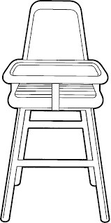 chair clipart black and white. school chair clipart black and white