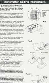 How Do You Program A Clicker Garage Door Opener How To Program A ...