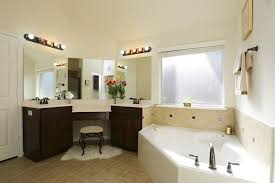 corner double sink vanity ideas