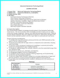 Sample Diesel Mechanic Resume – Resume Tutorial Pro