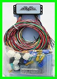 amazon com ultima complete wiring harness kit for harley davidson ultima 18 533 complete plus electronic wiring system for harley custom choppers