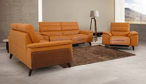 genuine leather sofas recliners