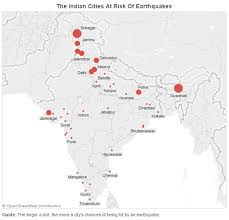 Hide news from the map. Guwahati And Srinagar Are At Highest Earthquake Risk In India