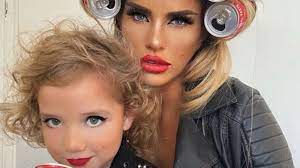 What are katie price's children's names? Katie Price Faces Backlash For Sharing Make Up Snaps Of Six Year Old Daughter Ents Arts News Sky News
