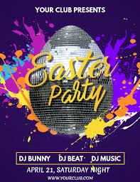 Easter Egg Hunt Flyer Easter Happy Easter Easter Party