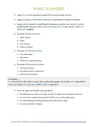 Anger Management Worksheet Worksheets for all | Download and Share ...