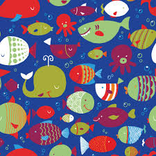 Fish Pattern Custom Fish Pattern Chelen Ecija Illustration