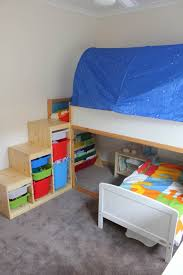 Diy Toddler Loft Bed Toddler Bunk Beds That Turn The Bedroom Into A Playground