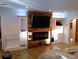 indirect lighting ideas tv wall. Electric Fireplace, Recessed Power \u0026 Cables For Wall Mount TV, Indirect Led Lighting, Ceiling Speakers, LED Can Lighting On Dimmers. Ideas Tv H