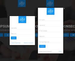 30 Best Html Login Registration Form Templates 2016