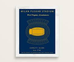 Alumni Stadium Seating Chart Milan Puskar Stadium Seating Chart West Virginia Mountaineers Mountaineers Vintage West Virginia University West Virginia Sign Football